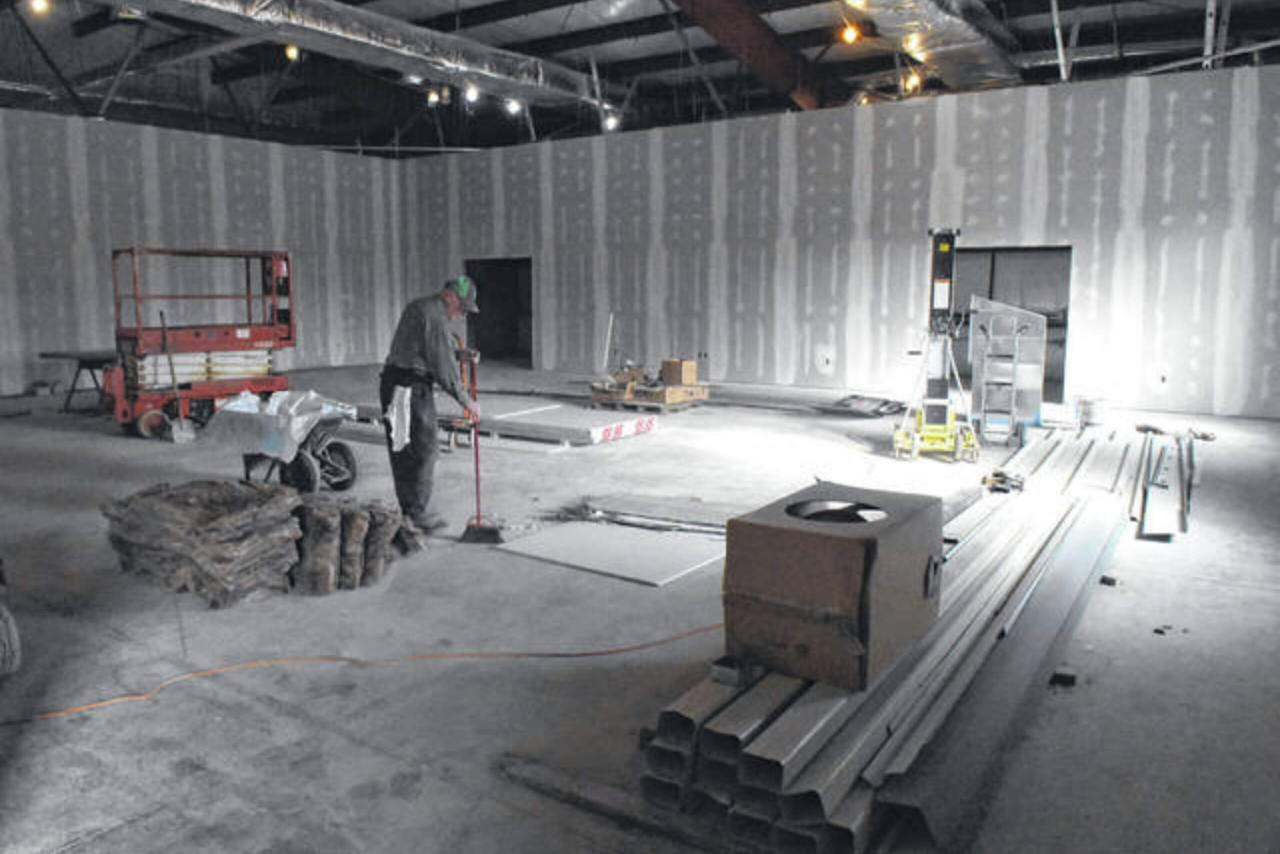 Conference Center Under Construction